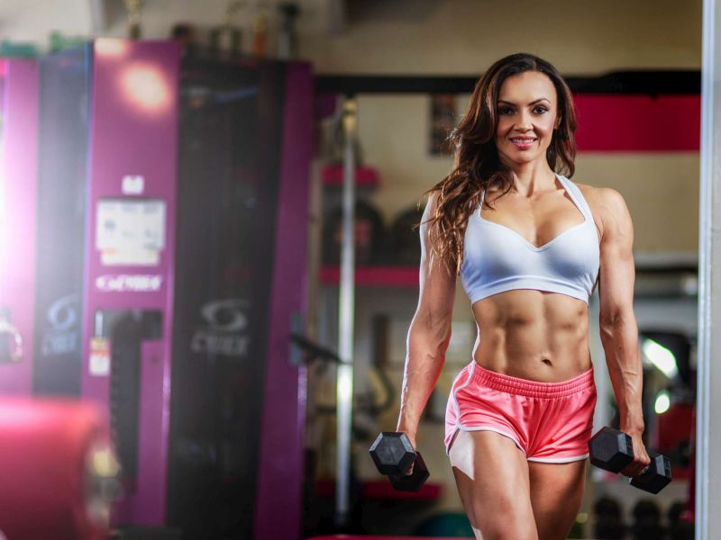 Susana Garcia - Fitness Photoshoot @ Woman Gym